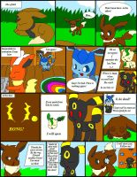 Clone Attack Page 1 by TwilightTheEevee