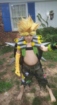 Junkrat Cosplay by MorphoFan
