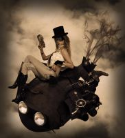 Miss Steampunk by solkee