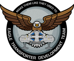 Eagle Transporter Development Team Patch by viperaviator