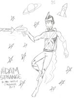 Adam Strange 10 Minute Challenge by MonkeySquadOne
