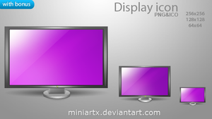 Display icon by Miniartx