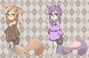 Squirrels [CLOSED] by kiim-adopts