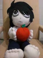 L plushie by Keykee88