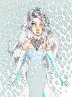 The Snow Queen by Glory-Day