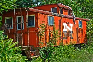 Caboose by FOTOSHOPIC
