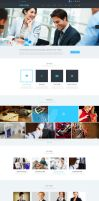 PSD WEB DESIGN TEMPLATE (MULTIPURPOSE) FREE DOWNLO by GraphicsUmbrella