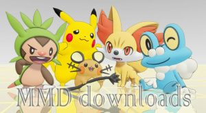 MMD Pokemon Team XY Download by BryanRush