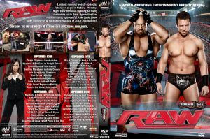 WWE Raw September 2012 DVD Cover by Chirantha