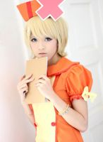 Rin Kagamine Love Colored Ward Cosplay by Lycorisa