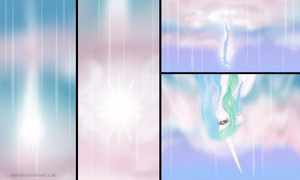 Celestia's Fall by Nimaru