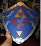 LOZ - Hylian Shield Cousin Ver by ChristalFir3