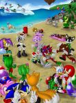 Collab - StHRP Beach Party by Jammerlee