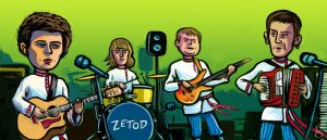 Zetod caricature for Unplugged by gilderic