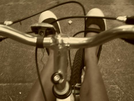 Classic Bike Riding by HarlotsRoulette