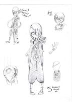 5 Humanise Croquis by Cecigaby