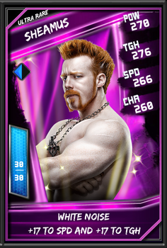 WWE Supercard- Ultra Rare- Sheamus by Cappie789