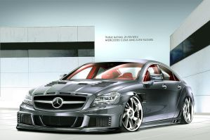 yusufbatirel 2012cls63 amg by yusufbatirel