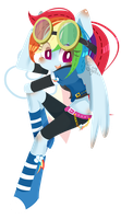 MLP-Rainbow Dash by abc002310