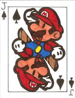 Mario face card by littlemissysg