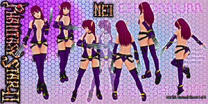 Nei - Chromium Reference Sheet 1of3 - Second Life by Jace-Lethecus