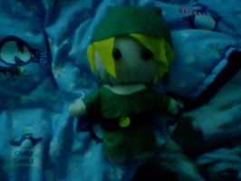 Link Plushie done by GaarasGurl123