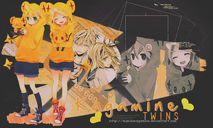 Kagamine twins ~ OUT. by MakaxKagamine