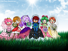 The Sonic Girl Brides... by icefatal