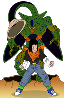 Cell Vs C17 by Toree182