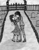 Dancing in the Cemetary by SonicBreezie4ever