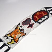 Nintendo Medley 1.5 in Friendship Bracelet by CarrieBea