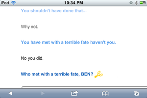 Talking to clever bot about Ben Part 8 by Death10281