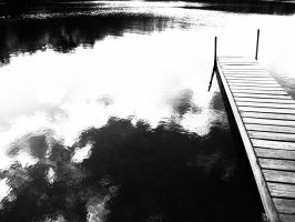 Black and White Dock by ShadowTheShinigami