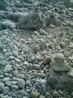 Rock Piles by Beautelle-stock