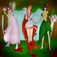 Fairytale Fights Trio by Hate-Incarnate