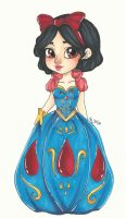 AT: Princess Fantasia Snow White by chelleface90