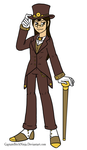 Dapper Steampunk AtomicKitten Commission by The-Clockwork-Crow
