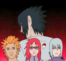 Sasukes New Team by AdrianAkuma