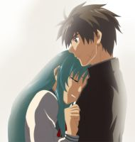 Chidori and Sousuke by Rydin