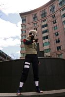 Kakashi in USA by Suki-Cosplay