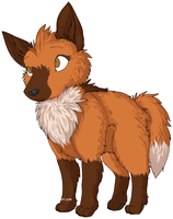 Cutie Maned Wolf by PokeartKid