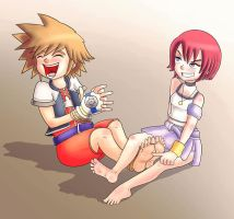 KH Sora tickled by Digi-runner
