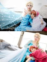 FROZEN: She's my sister by kasaikun16