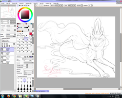 BLUE METAMORFOSIS - SUICUNE WIP by Favetoni