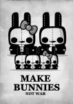 Make bunnies not war by daskull