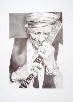 Keith Richards by resistanceispointles