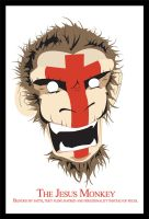 The Jesus Monkey by satan666v