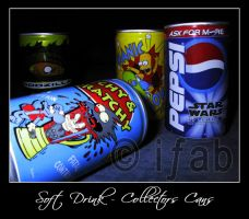 Soft Drink - Collectors Cans by iFab