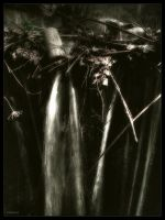 Mystic waterfall 2 by garnoo