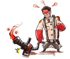 The Unappreciated Medic by bowlersandtophats